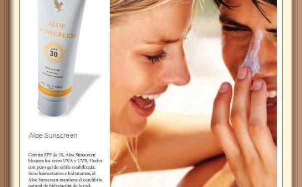Aloe Sunscreen – Krema za sunčanje s aloe verom – SPF 30