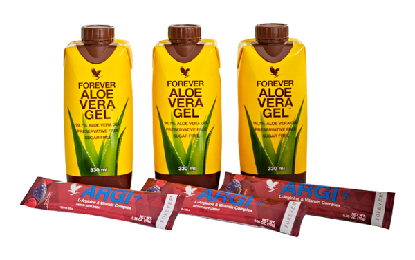 Argi+ and Aloe Mini Tripack