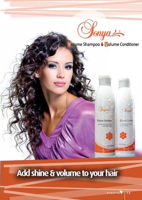Sonya Volume Shampoo & Conditioner