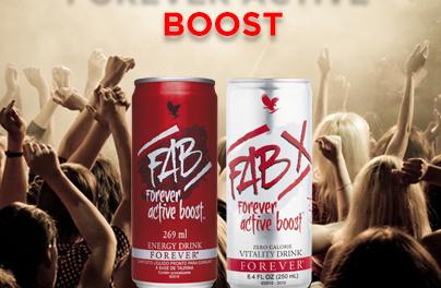 FAB – Forever Active Boost-PRIRODAN ENERGETSKI NAPITAK